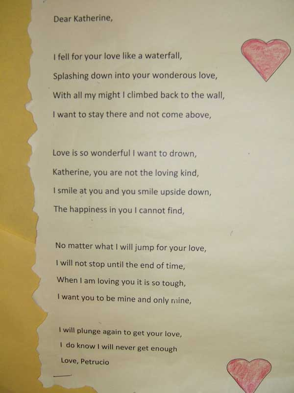 Love Sonnets By Students | www.imgkid.com - The Image Kid ...