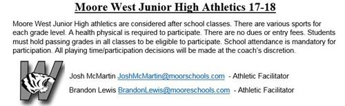MWJH Athletics