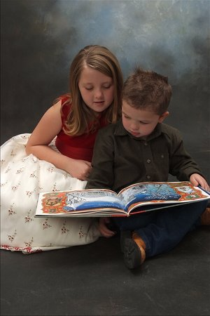 Open up their imagination with a great book