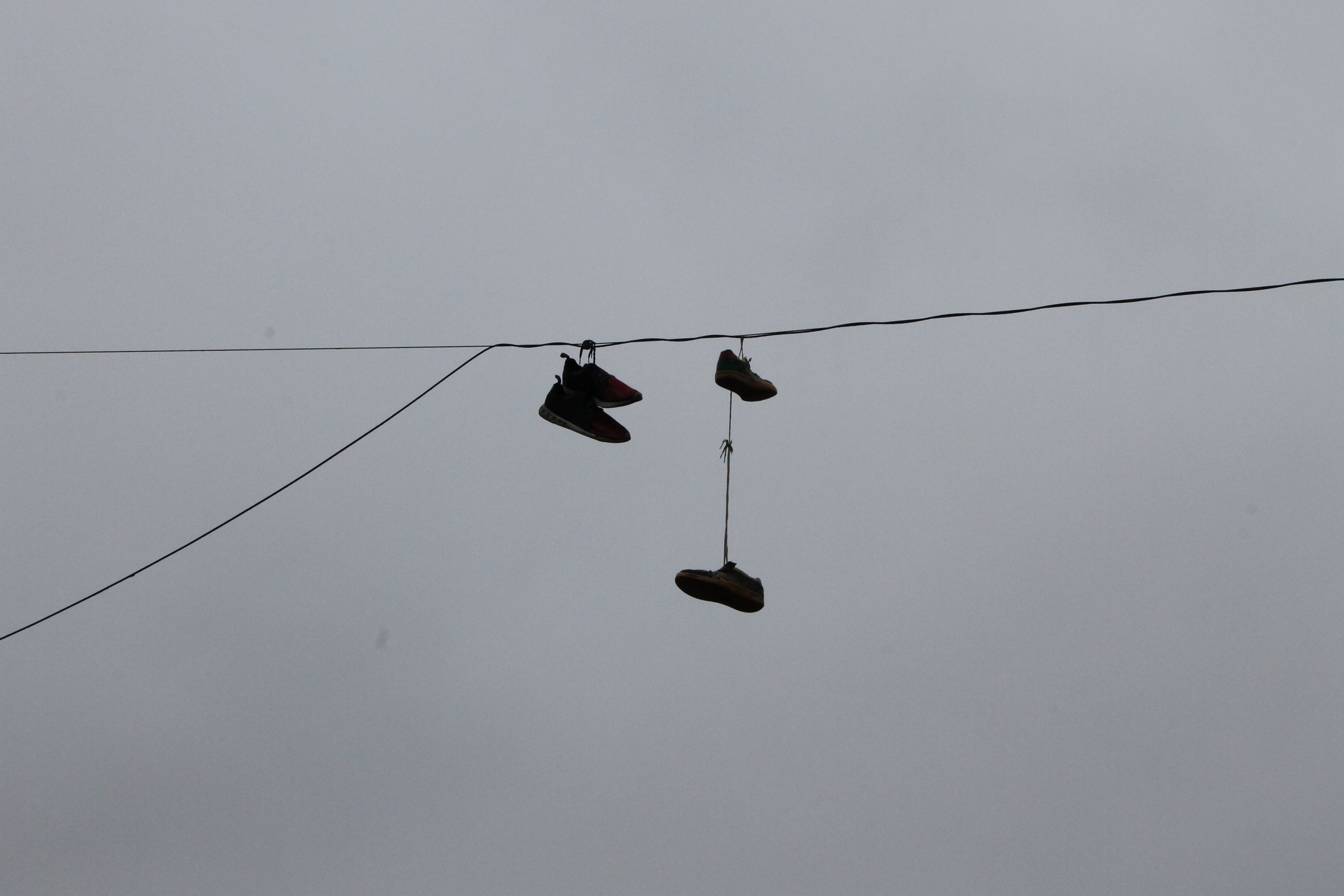 Shoes on wire 2