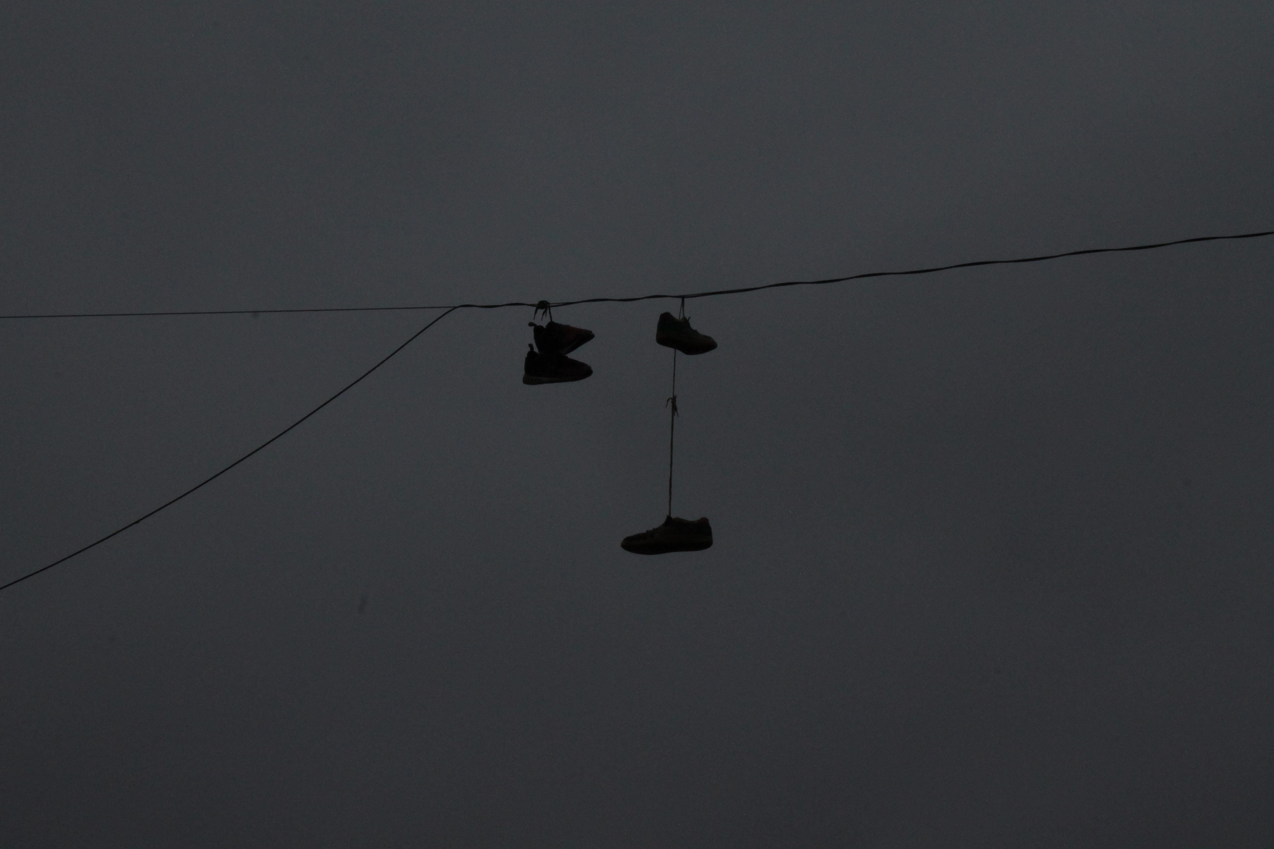 shoes on wire 1