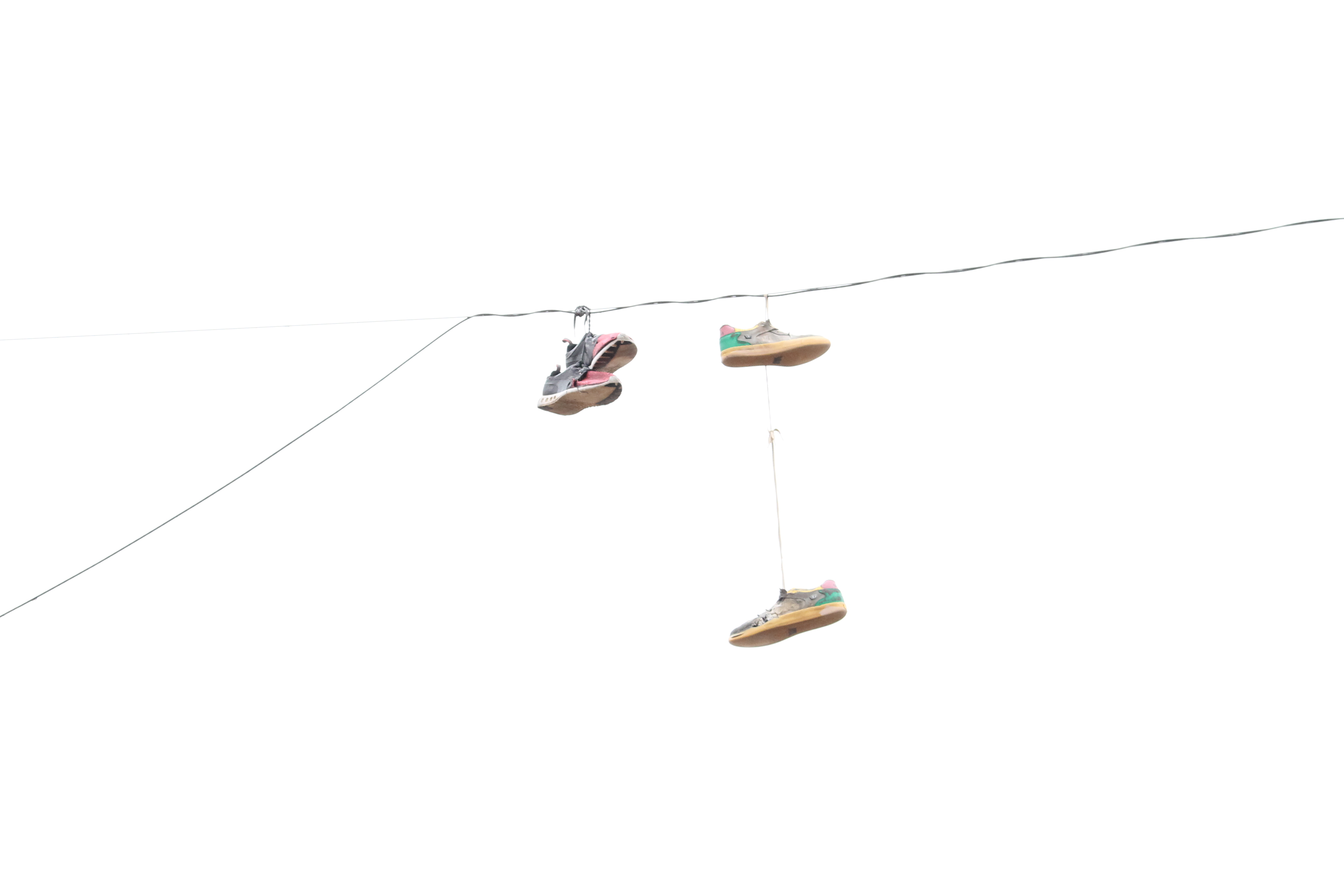 shoes on wire 3