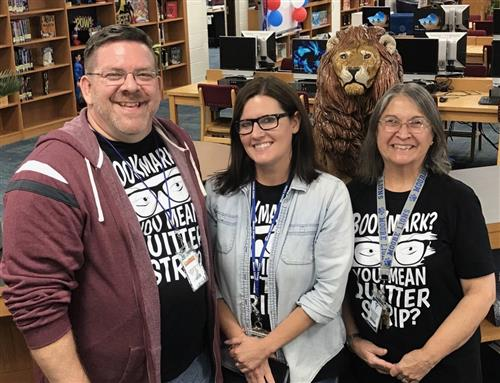 MHS Library Staff