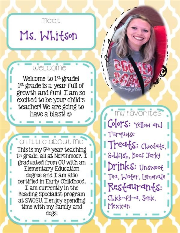Meet Ms. Whitson