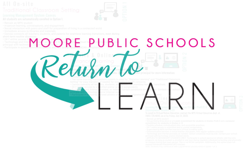 Moore Public Schools 2021-2022 Calendar Wallpaper