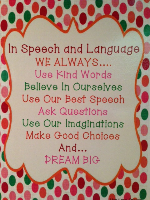 In Speech and Language...